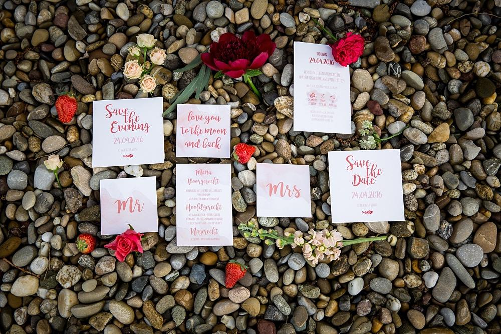 Inspiratie: rustic chique bruiloft met een rood tintje blog by