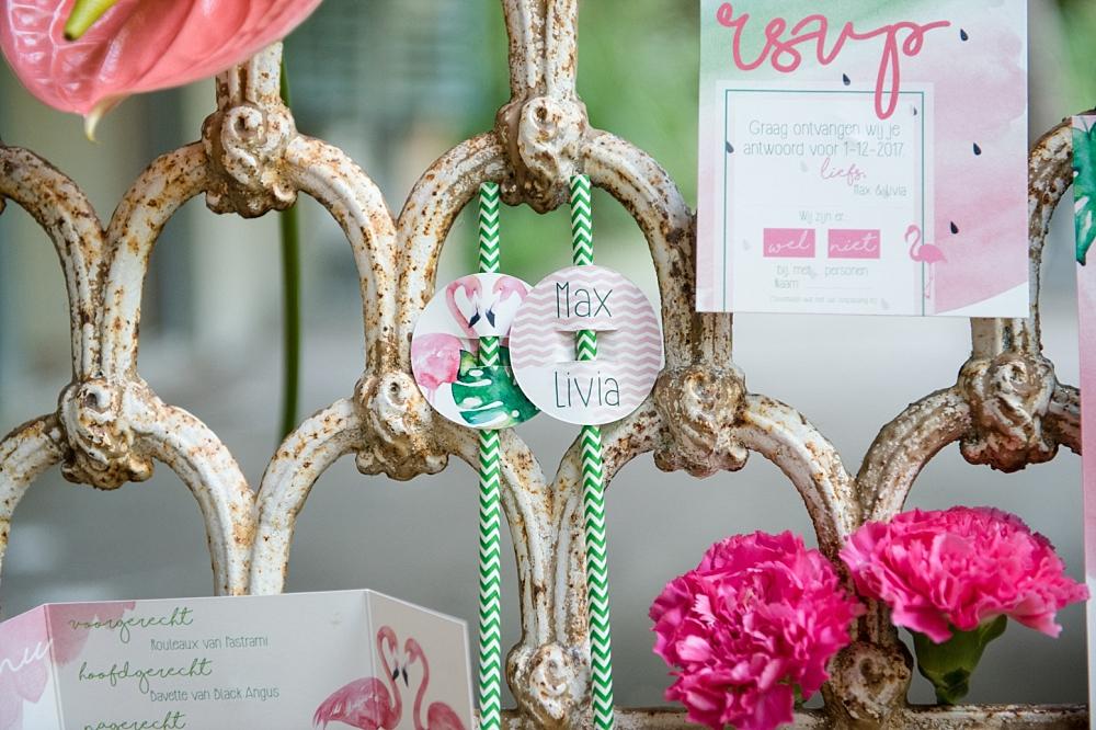 Inspiratie: tropische urban jungle bruiloft in avifauna blog by