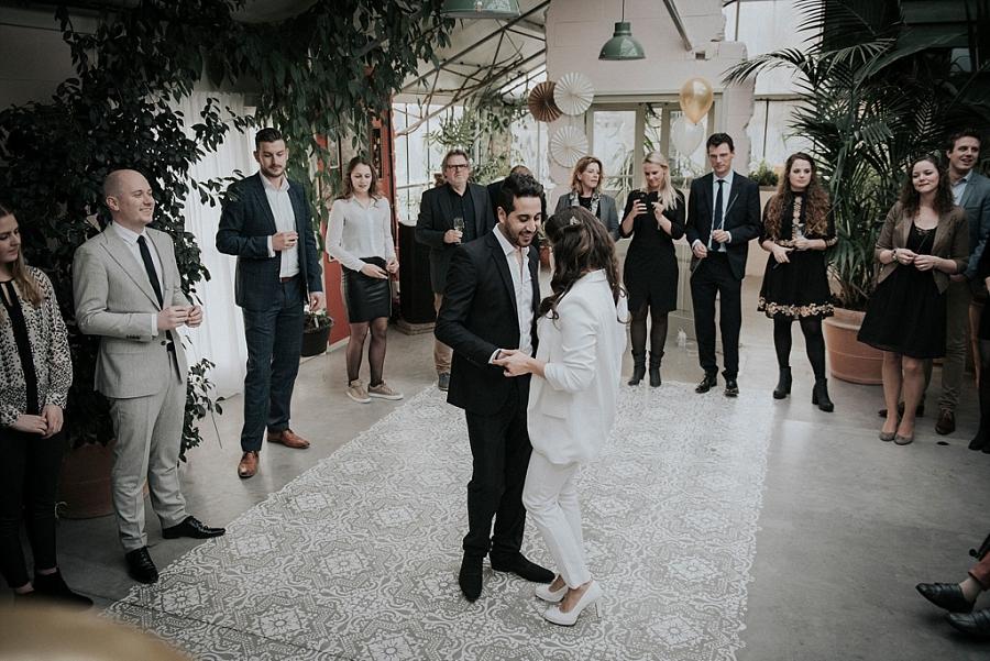 Bruiloft van Binti Home: Souraya en Mahmoud trouwen in een kas - muziek op de bruiloft