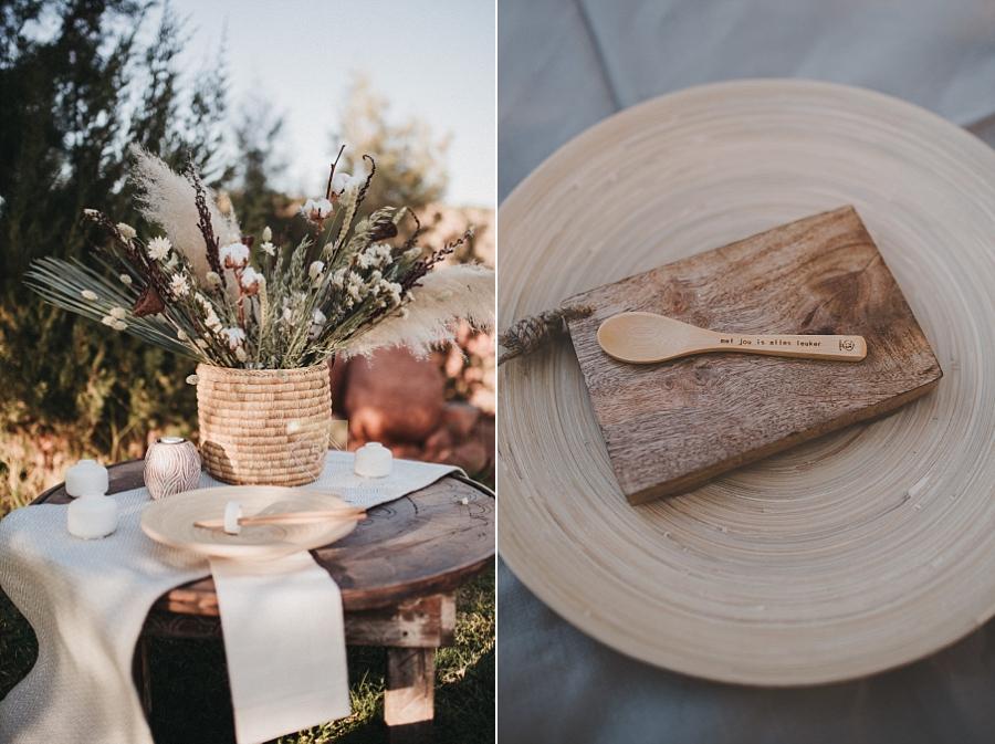 Inspiratie: Moderne bruiloft met natuurlijke tinten & texturen in Marokko
