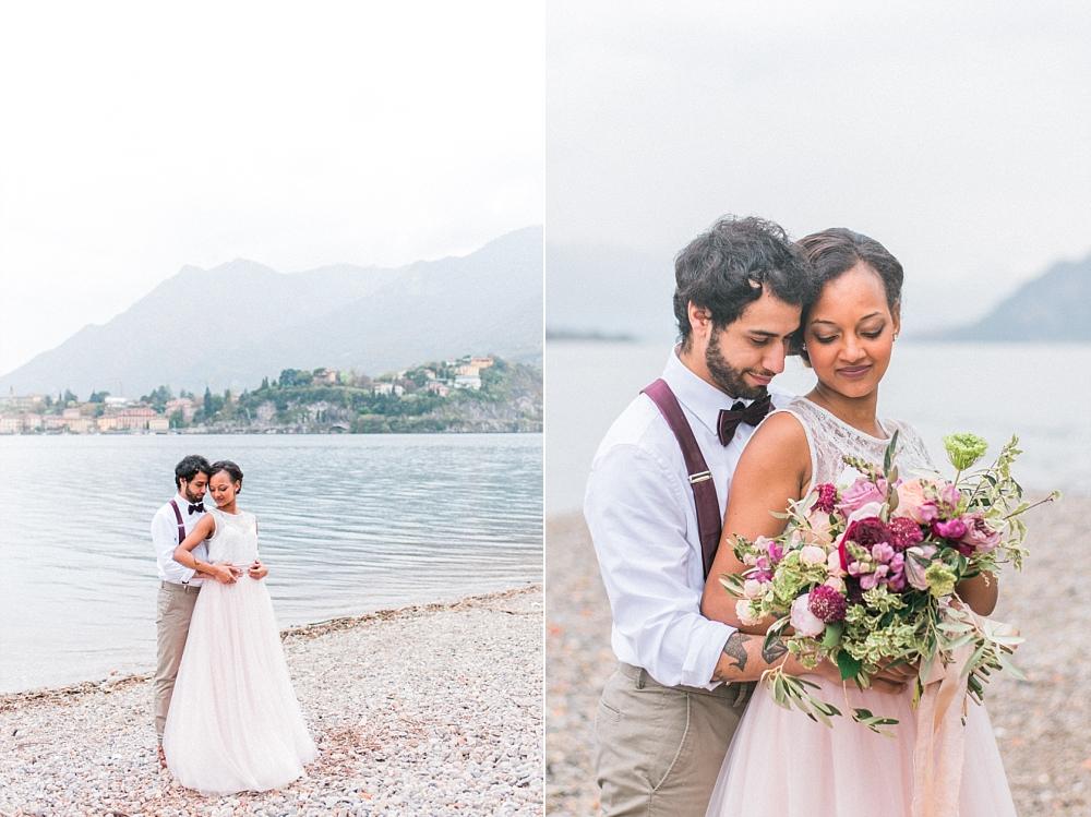 Inspiratie: romantische bruiloft aan Comomeer in Italië