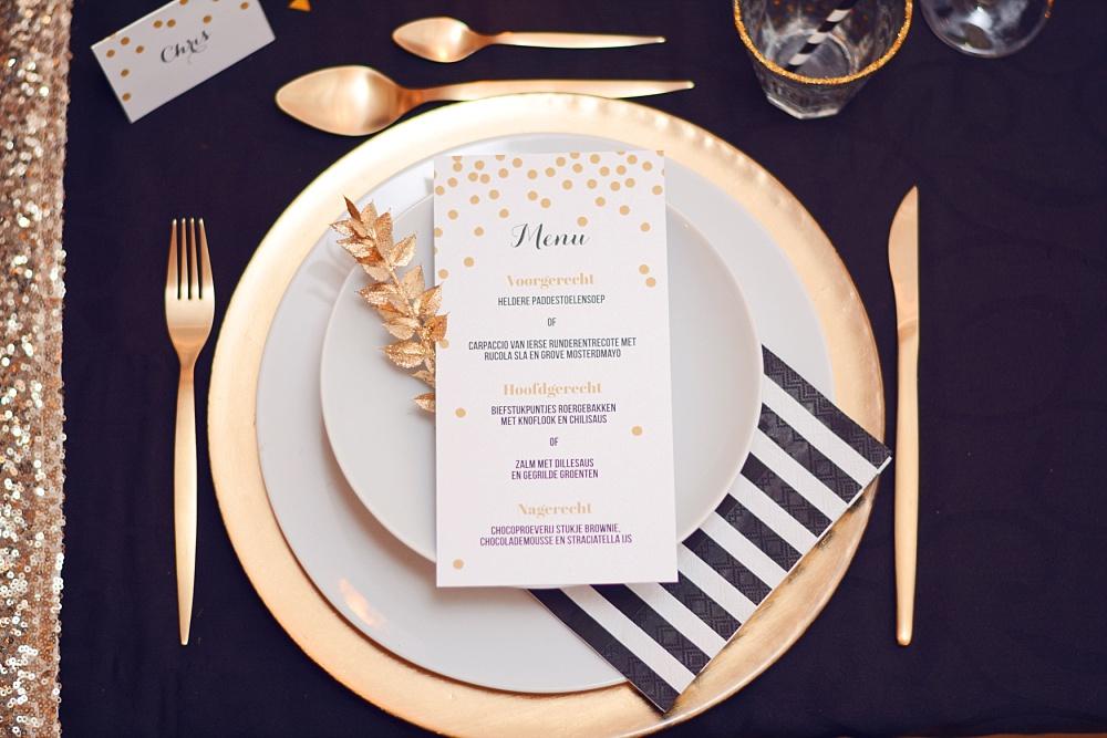 Inspiratie: nye wedding met zwart & goud blog by weddingdeco.nl